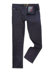 Merc 5 Pocket Ashville Jean Dark Navy