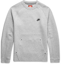 Nike Cotton Blend Tech Fleece Sweatshirt Gray