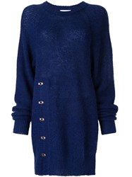 Alice Mccall The Sign Longline Jumper Blue