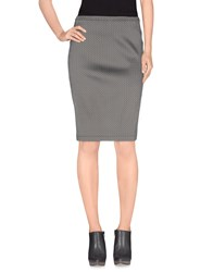 Gotha Skirts Knee Length Skirts Women Grey