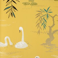 Nina Campbell Swan Lake Wallpaper Ncw4020 05