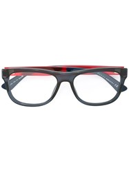 Gucci Eyewear Square Shaped Glasses Blue