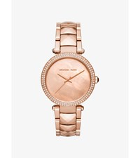 Parker Rose Gold Tone Watch