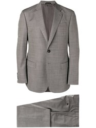 Giorgio Armani Formal Two Piece Suit Grey