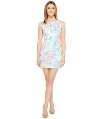 Lilly Pulitzer Mila Shift Multi Sparkling Sands Women's Dress