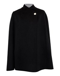 Ted Baker Ailida Reversible Wrap Over Cape Black