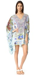Camilla Split Shoulder Short Caftan My Majorelle