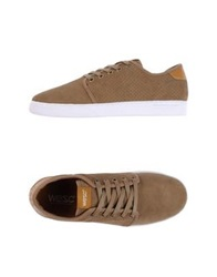 Wesc Low Tops And Trainers Dark Brown