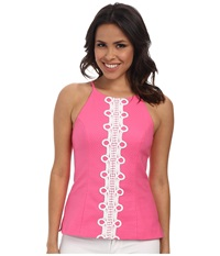 Lilly Pulitzer Annabelle Top Hotty Pink Women's Sleeveless