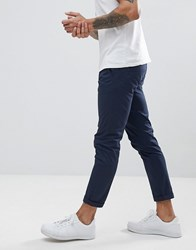 Solid Chino In Navy
