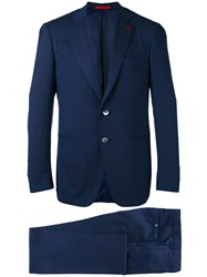 Isaia Formal Suit Blue