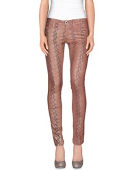 S.O.S By Orza Studio Denim Denim Trousers Women Pastel Pink