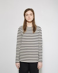 Norse Projects Inge Stripe Shirt Navy