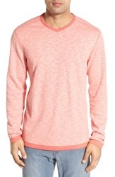 Tommy Bahama Men's 'Seaglass' Reversible V Neck Pullover Acapulco