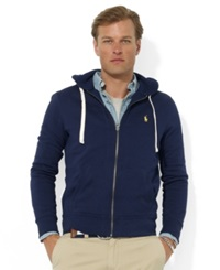 Polo Ralph Lauren Hoodie Core Full Zip Hooded Fleece Cruise Navy