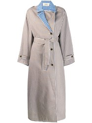 Ports 1961 Varie Trench Coat Brown