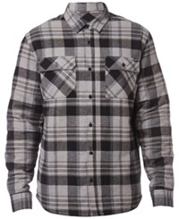 Fox Men's Glamper Flannel Shirt Black