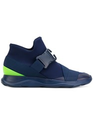 Christopher Kane High Top Sneakers Blue