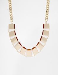 Weekday Hello Necklace Gold
