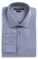 John Varvatos Men's Big And Tall Star Usa Regular Fit Dress Shirt Atlantic Blue