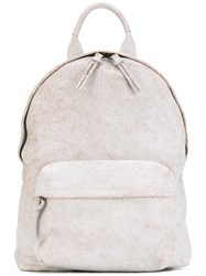 Officine Creative Mini Backpack Unisex Calf Leather One Size Nude Neutrals