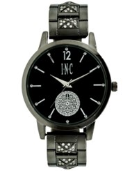 Inc International Concepts Women's Crystal Rose Gold Tone Bracelet Watch 40Mm A Macy's Exclusive Style Gunmetal