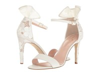 Kate Spade Iris Off White Nappa Flower Lace Women's Shoes
