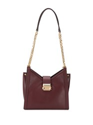 Michael Kors Whitney Small Shoulder Bag Red