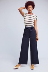 Anthropologie Joelle Wide Legs Navy
