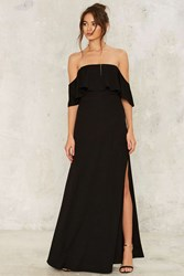 Bare With Me Maxi Dress Black
