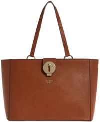 Guess Augustina Large Tote A Macy's Exclusive Style Cognac