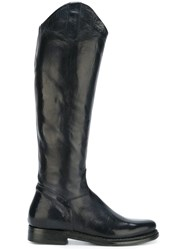 Silvano Sassetti Knee Length Boots Blue