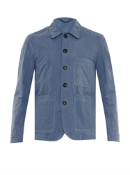 Gieves And Hawkes Waxed Cotton Jacket
