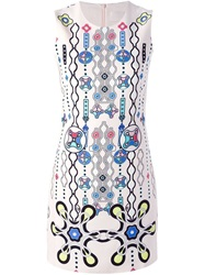 Peter Pilotto Digital Print Dress Nude And Neutrals