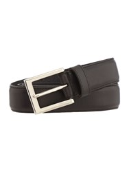 Howick Leather Stitched Belt Black