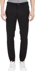 Ag Jeans Drawstring Trousers Black