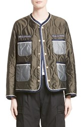Undercover Women's Embroidered Quilted Jacket