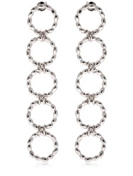 Bea Bongiasca Rice Is Life 5 Circles Earrings Silver