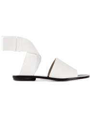 Proenza Schouler Twisted Ankle Sandals