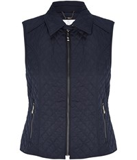 Cc Quilted Gilet Navy