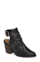 Chinese Laundry Small Town Studded Bootie Black Leather