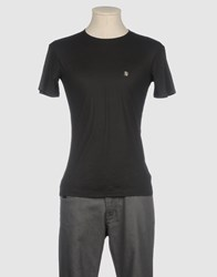 Ermanno Scervino Scervino Street Topwear Short Sleeve T Shirts Men Black