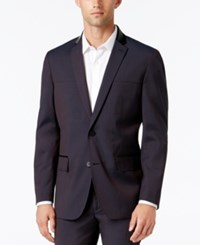 Inc International Concepts Men's Todd Classic Fit Suit Jacket Only At Macy's Wine