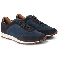 Loro Piana Weekend Walk Suede Sneakers