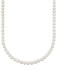 Belle De Mer Pearl Necklace 16' 14K Gold A Akoya Cultured Pearl Strand 8 8 1 2Mm
