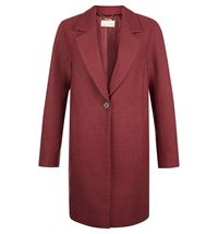 Hobbs Cherrie Coat Red