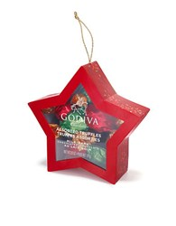 Godiva Star Ornament No Color
