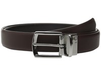 Lauren Ralph Lauren Reversible Dress Belt Brown Black Men's Belts