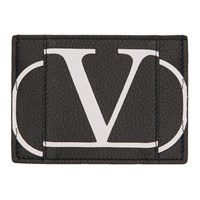 Valentino Black Garavani Vlogo Card Holder