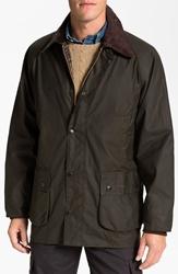Barbour 'Bedale' Relaxed Fit Waterproof Waxed Cotton Jacket Olive